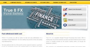 True 8 FX Investments reviews