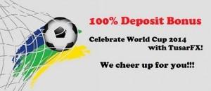 TusarFX 2014 FIFA World Cup Bonus