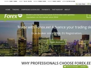 Forex.ee Broker