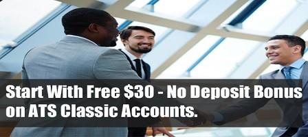 ATS $30 NO DEPOSIT BONUS