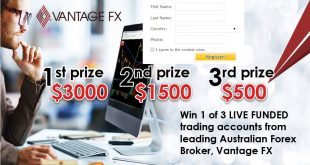 Forex Trading Contest by Vantage FX